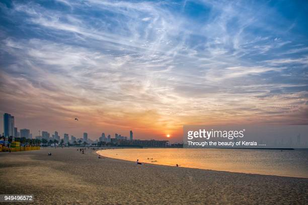 marina beach @ salmiya - chennai stock pictures, royalty-free photos & images