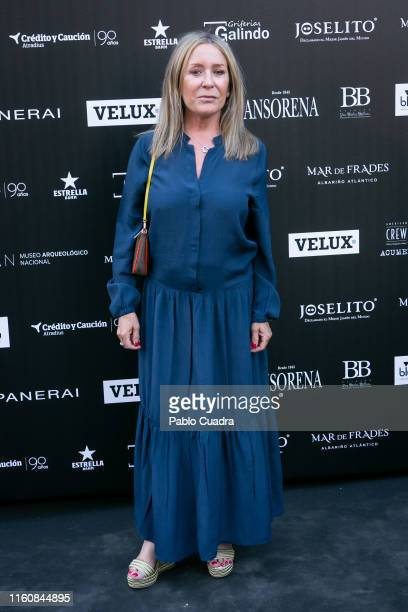 Marina Castano attends the 'Fuera De Serie' 20th Anniversary party on July 08, 2019 in Madrid, Spain.