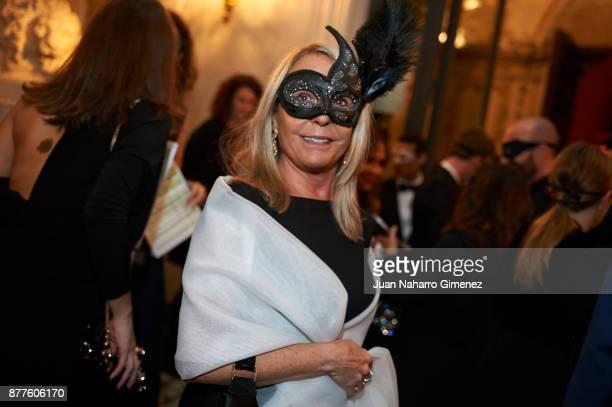 Marina Castao attends to the Dior Ball party at Santona Palace on November 22 2017 in Madrid Spain
