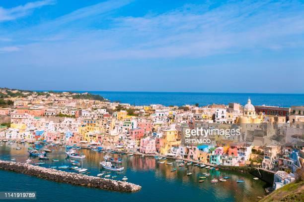 Marina Corricella Procida Campania Italy Europe