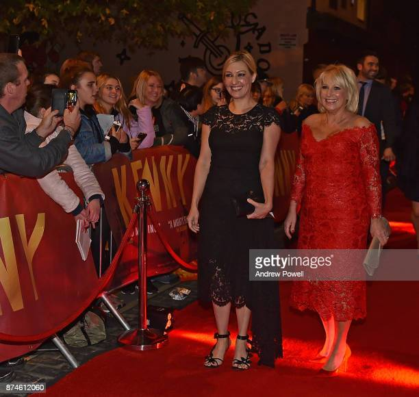 Marina Daglish with her daughter Kelly arrives at the Kenny film premiere at the FACT cinema on November 15 2017 in Liverpool England