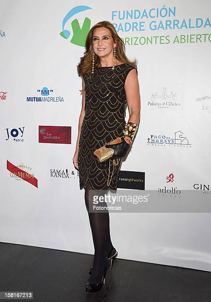 Marina Danko attends architect Joaquin Torres charity cocktail at ACero In on December 10 2012 in Madrid Spain