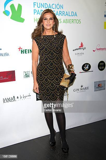 Marina Danko attends the 'Padre Garralda' Foundation charity cocktail at the Acero studio on December 10 2012 in Madrid Spain