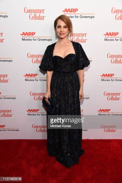 Marina de Tavira attends AARP The Magazine's 18th Annual Movies for Grownups Awards at the Beverly Wilshire Four Seasons Hotel on February 04 2019 in...