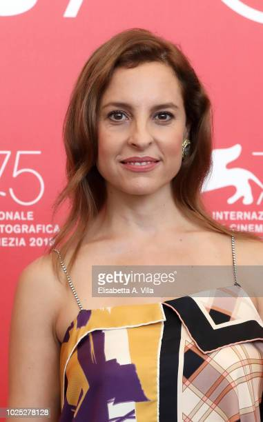 Marina de Tavira attends 'Roma' photocall during the 75th Venice Film Festival at Sala Casino on August 30 2018 in Venice Italy