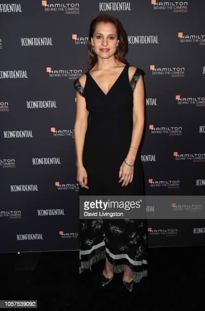 Marina De Tavira attends the 10th Hamilton Behind The Camera Awards at Exchange LA on November 4, 2018 in Los Angeles, California.