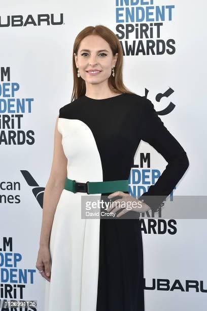 Marina de Tavira attends the 2019 Film Independent Spirit Awards on February 23, 2019 in Santa Monica, California.