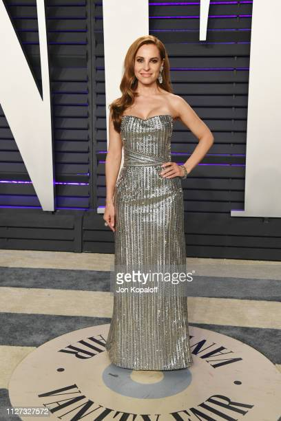 Marina De Tavira attends the 2019 Vanity Fair Oscar Party hosted by Radhika Jones at Wallis Annenberg Center for the Performing Arts on February 24...
