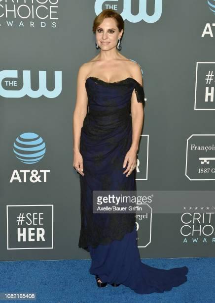 Marina De Tavira attends the 24th annual Critics' Choice Awards at Barker Hangar on January 13 2019 in Santa Monica California