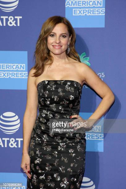 Marina De Tavira attends the 30th Annual Palm Springs International Film Festival Film Awards Gala at Palm Springs Convention Center on January 3...