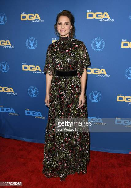 Marina de Tavira attends the 71st Annual Directors Guild Of America Awards at The Ray Dolby Ballroom at Hollywood Highland Center on February 02 2019...