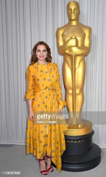 Marina de Tavira attends the 91st Oscars Nominee Champagne Tea Reception at Claridges Hotel on February 08 2019 in London England