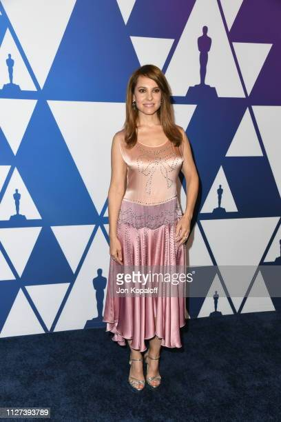 Marina de Tavira attends the 91st Oscars Nominees Luncheon at The Beverly Hilton Hotel on February 04 2019 in Beverly Hills California