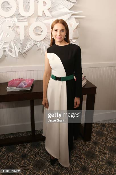Marina de Tavira attends the DIRECTV Bungalow Presented By AT&T at the 2019 Film Independent Spirit Awards on February 23, 2019 in Santa Monica,...