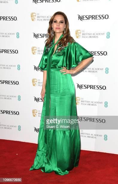 Marina de Tavira attends the Nespresso British Academy Film Awards nominees party at Kensington Palace on February 9 2019 in London England