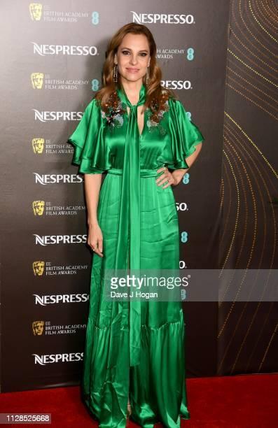 Marina de Tavira attends the Nespresso British Academy Film Awards nominees party at Kensington Palace on February 09 2019 in London England