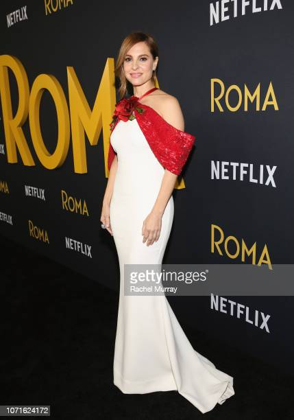 Marina de Tavira attends the Netflix Roma Premiere at the Egyptian Theatre on December 10 2018 in Hollywood California