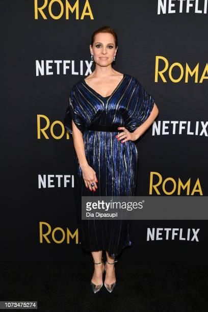 Marina De Tavira attends the Roma New York screening at DGA Theater on November 27 2018 in New York City