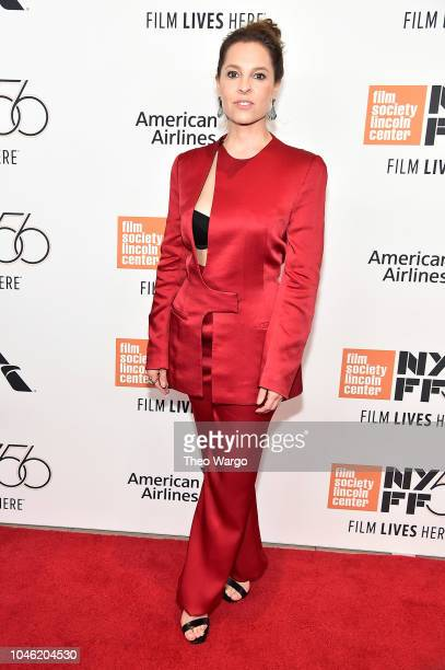 """Marina de Tavira attends the """"ROMA"""" premiere during the 56th New York Film Festival at Alice Tully Hall, Lincoln Center on October 5, 2018 in New..."""