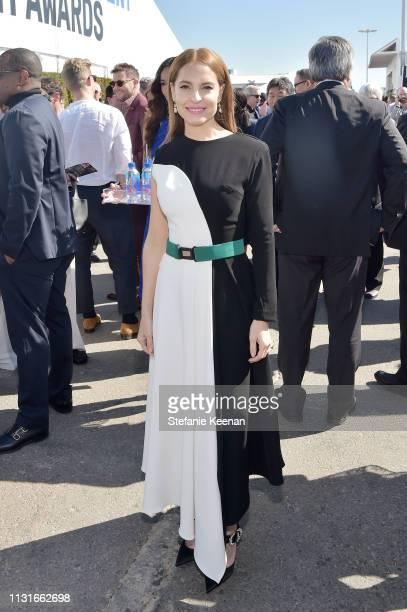 Marina de Tavira with FIJI Water during the 2019 Film Independent Spirit Awards on February 23, 2019 in Santa Monica, California.