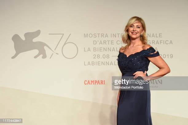 Marina Di Guardo at the 76 Venice International Film Festival 2019 Unposted red carpet Venice September 4rt 2019