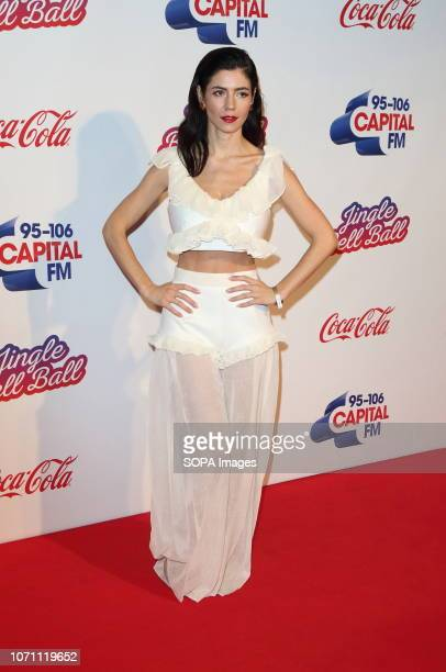 Marina Diamandis at Capital's Jingle Bell Ball with CocaCola during day two at The O2 Peninsula Square