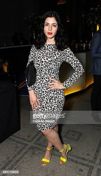 Marina Diamandis attends a gala dinner celebrating the launch of Contini Art UK a new gallery opening on New Bond Street at Victoria and Albert...