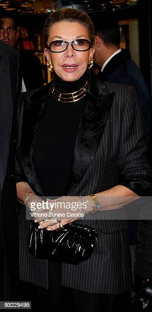 Marina Doria attends the launch of the book 'C'era una volta un principe' on November 19 2009 in Milan Italy