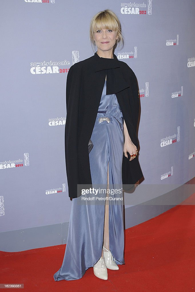 Marina Fois arrives at Cesar Film Awards 2013 at Theatre du Chatelet on February 22, 2013 in Paris, France.