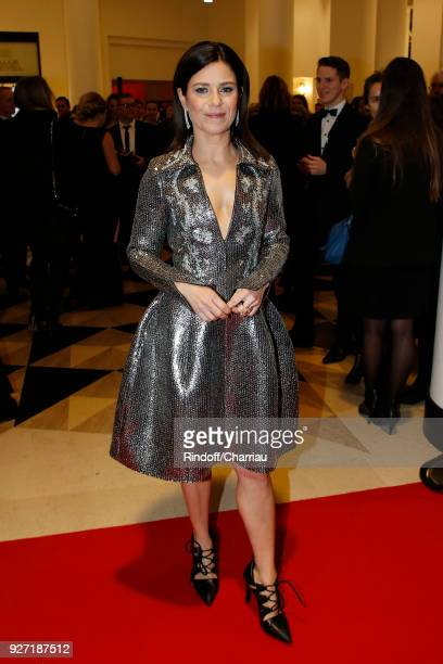 Marina Fois arrives at the Cesar Film Awards 2018 At Salle Pleyel on March 2 2018 in Paris France