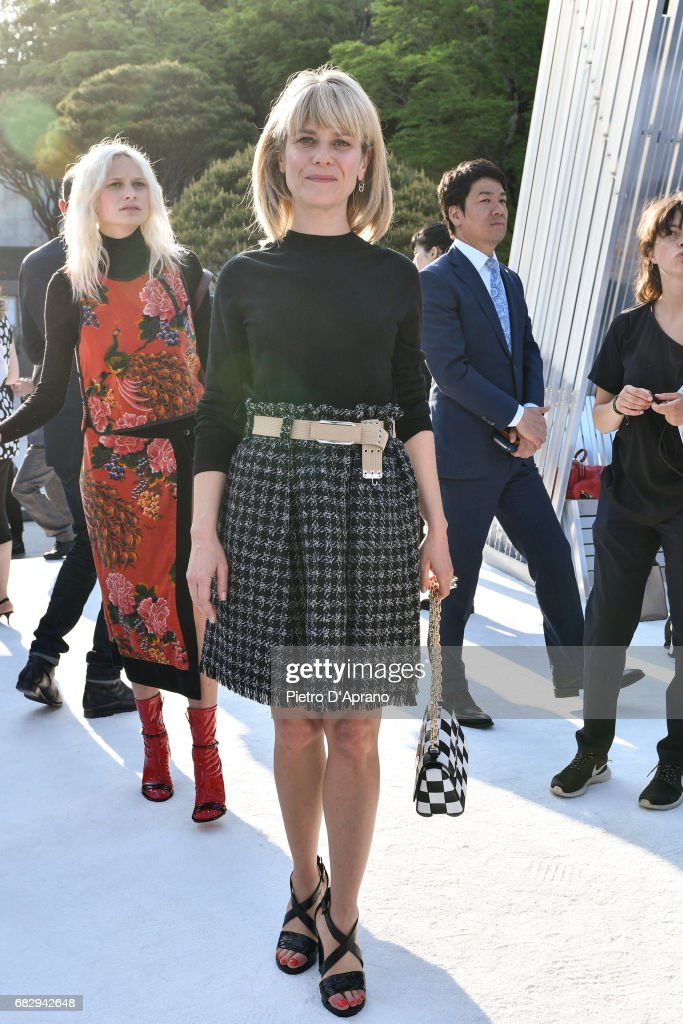 Marina Fois attends the Louis Vuitton Resort 2018 show at the Miho Museum on May 14, 2017 in Koka, Japan.