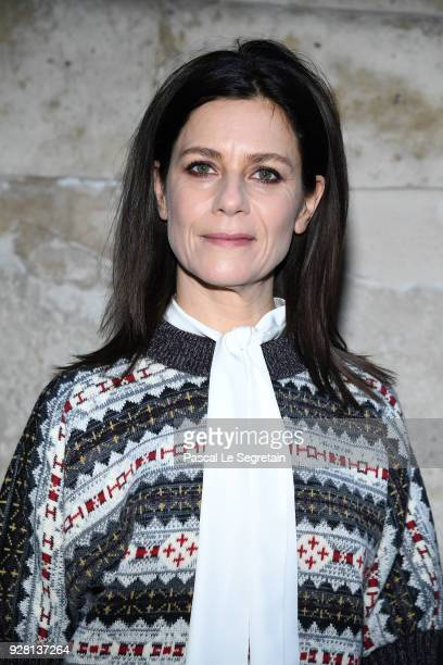 Marina Fois attends the Louis Vuitton show as part of the Paris Fashion Week Womenswear Fall/Winter 2018/2019 on March 6 2018 in Paris France