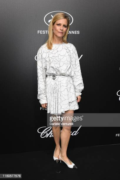 Marina Fois attends the The Chopard Trophy event during the 72nd annual Cannes Film Festival on May 20 2019 in Cannes France