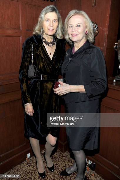 Marina Galesi and Cornelia Bregman attend ANNE HEARST MCINERNEY JAY MCINERNEY and GEORGE FARIAS Holiday Party at 21 Club on December 16 2010 in New...