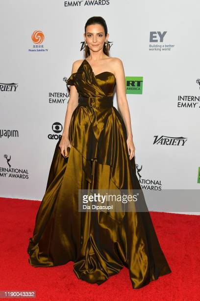 Marina Gera attends the 2019 International Emmy Awards Gala on November 25 2019 in New York City