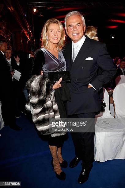 Marina Giori-Swarovski and her husband Adalbert Lhota attend the Laureus Media Award 2012 on November 05, 2012 in Kitzbuehel, Austria.