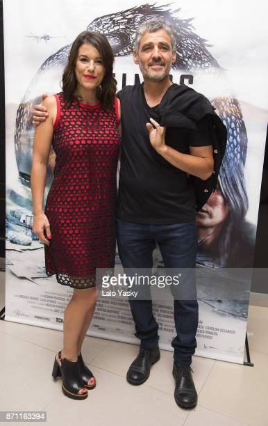Marina Glezer and German Palacios attend the premiere of 'Los Ultimos' at the Buenos Aires Dot Hoyts cinema on November 6 2017 in Buenos Aires...