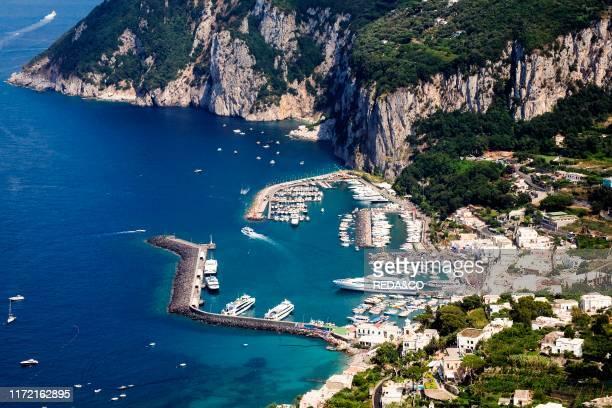 Marina Grande Capri island Naples Campania Italy Europe