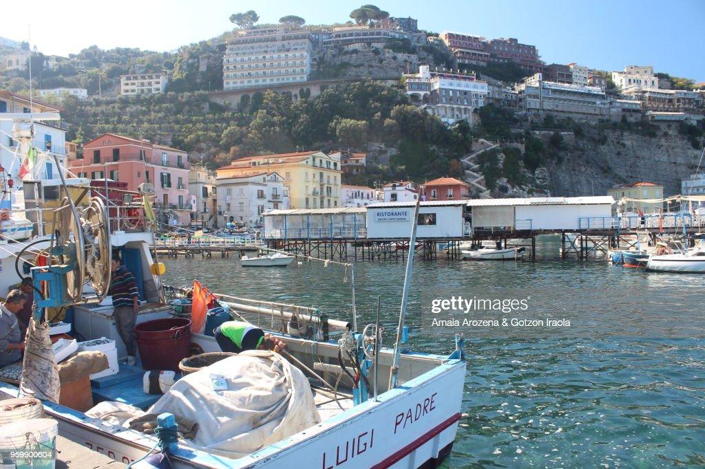 Marina Grande, Sorrento. Campania, Italy : Stock-Foto