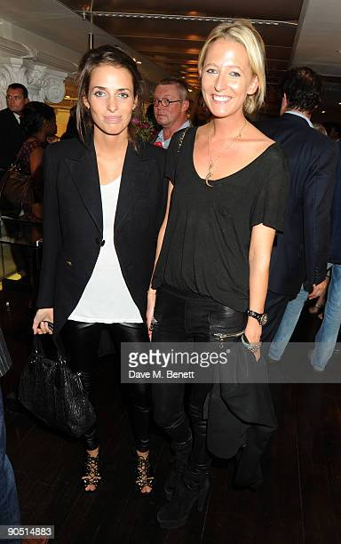 Marina Hanbury and Sophia Hesketh attend the launch of Tom Parker Bowles' new book 'Full English' at Selfridges on September 9 2009 in London England