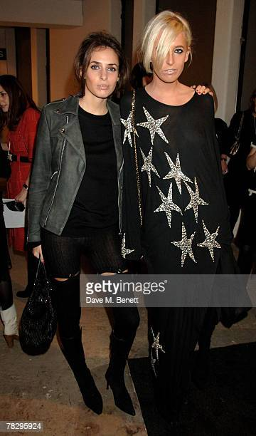 Marina Hanbury and Sophia Hesketh attend the preview of the Chanel Pre Autumn/Winter Collection at 9 Howick Place on December 6 2007 in London England