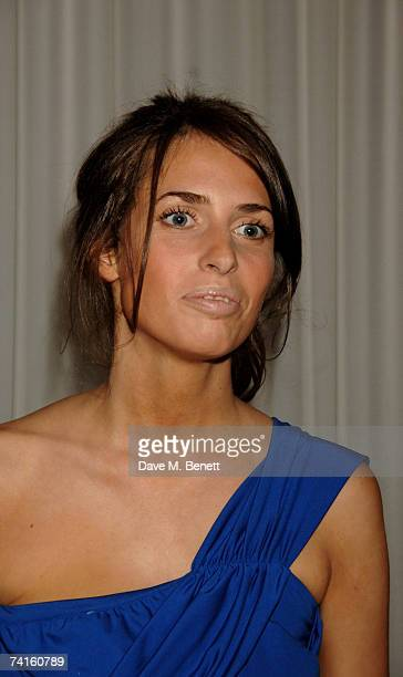 Marina Hanbury attends a charity evening in aid of CLIC Sargent at the Sanderson Hotel on May 15 2007 in London England