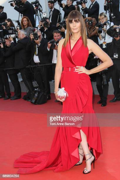 Marina Hands attends the Closing Ceremony during the 70th annual Cannes Film Festival at Palais des Festivals on May 28 2017 in Cannes France
