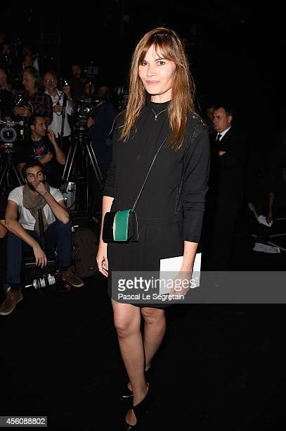 Marina Hands attends the Nina Ricci show as part of the Paris Fashion Week Womenswear Spring/Summer 2015 on September 25 2014 in Paris France