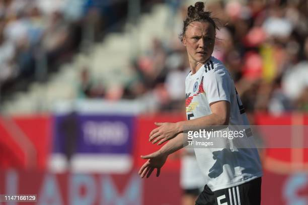 Marina Hegering of Germany looks on during the international friendly match between Germany Women and Chile Women at Continental Arena on May 30 2019...