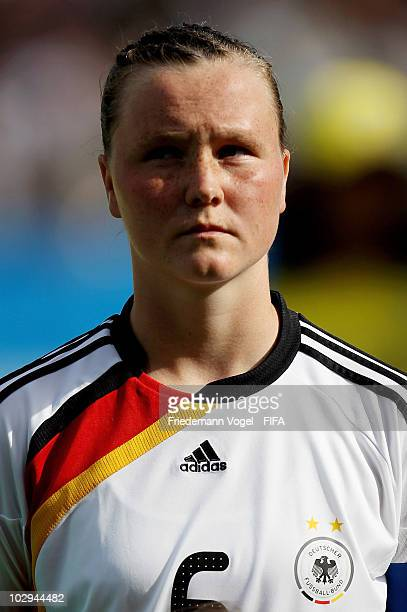 Marina Hegering of Germany poses during the FIFA U20 Women's World Cup Group A match between Germany and Colombia at the FIFA U20 Women's Worl Cup...