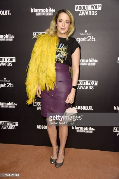 Marina Hoermanseder attends the About You Awards on May 4, 2017 in Hamburg, Germany.