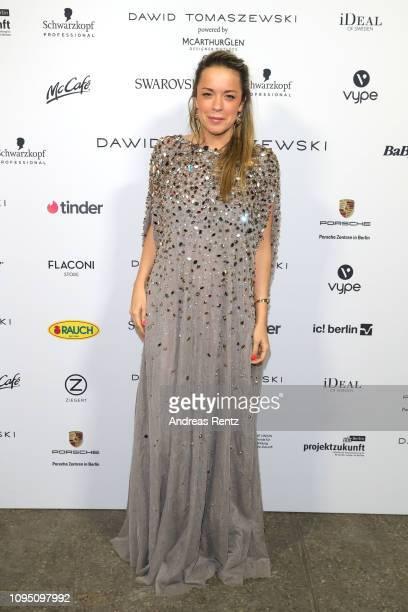 Marina Hoermanseder attends the Dawid Tomaszewski Defile during the Berlin Fashion Week Autumn/Winter 2019 on January 16, 2019 in Berlin, Germany.