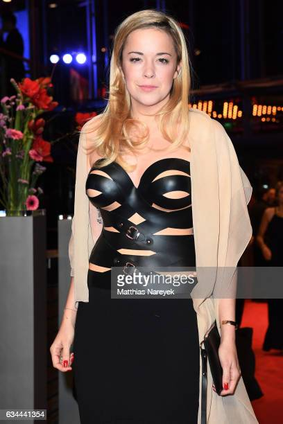 Marina Hoermanseder attends the 'Django' premiere during the 67th Berlinale International Film Festival Berlin at Berlinale Palace on February 9,...
