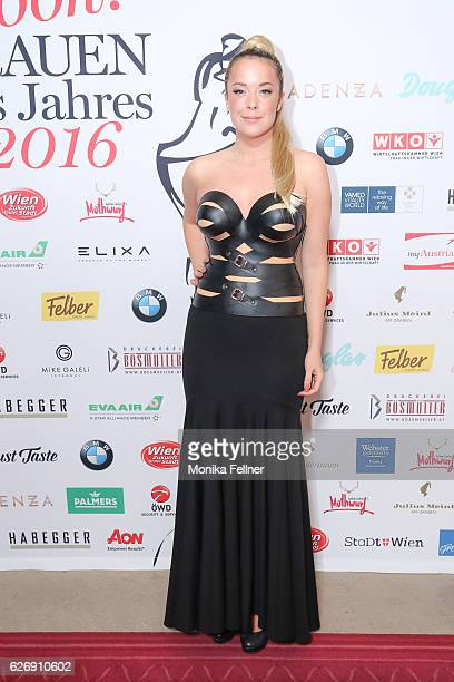 Marina Hoermanseder attends the Look Women of the Year Awards at City Hall on November 30, 2016 in Vienna, Austria.